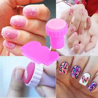 Pro Manicure Template Nail Art Seal Stamp Plate Scraper Stamper DIY Tool Kit/Set