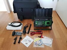 Gossen Metrawatt Secutest 0701/0702S-II German interface Gerätetester  + Laptop