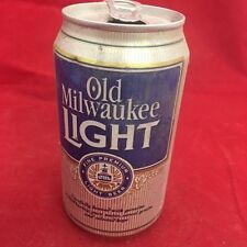 Old Milwaukee Light Beer can, empty, 12 oz