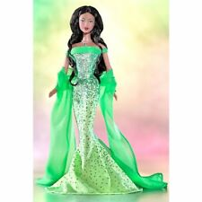 BIRTHSTONE COLLECTION August Peridot COLLECTOR EDITION Barbie Doll