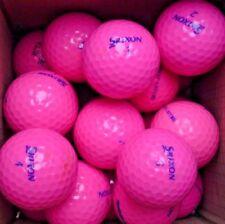 11 Srixon Ladies Soft Feel Pink Golf Balls Pearl/A Grade