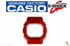 CASIO G-Shock DW-5600P-4 Original Red Watch BEZEL Case Shell