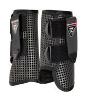 Equilibrium Tri-Zone Allsport Boot - Black White HORSE PONY FOR FRONT OR HIND