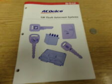 AC Delco SS-TD-3.01 GM Theft Deterrent Systems Manual  *FREE SHIPPING*