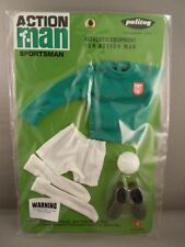 ACTION MAN  40th - GREEN JERSEY FOOTBALLER CARD - SPORTSMAN - Carded