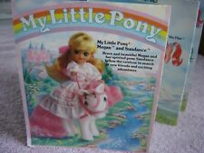 My Little Pony Vtg Brochure Hasbro G1 1985 Htf Nice ID Poster Reference Toy Ad
