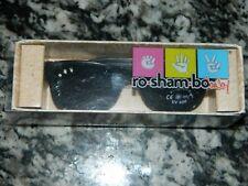 "NEW in box ""RO-SHAM-BO"" Baby ""Bueller"" Black Italian Made Sunglasses100% UVblock"