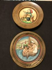 Christmas Plate 1979 The Drummer By Anri Ferandiz & 1975 Father's Day Plate