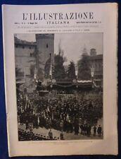 ILLUSTRAZIONE ITALIANA - N. 21/ 1923 - TORINO - CAROSELLO STORICO MILITARE