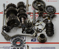 2012 Kawasaki KX250F OEM Complete Transmission Shafts Gears Shift Drum Forks