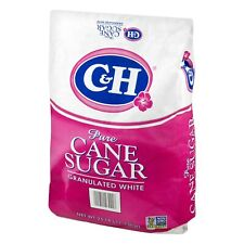 C&H Pure Cane sugar Granulated White 25 lbs~ FREE 2-3 DAYS SHIPPING