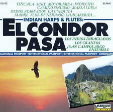 EL CONDOR PASA - INDIAN HARPS & FLUTES / CD - TOP-ZUSTAND