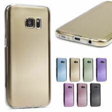 Urcover Samsung Galaxy Metal Optic 360° Full Body TPU Silicone Protective Cover