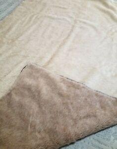 100 % Alpaca Blanket Lama Paca Made In Germany  Leather Binding 77x54