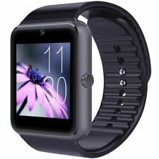 All-in-1 Smartwatch and Watch Cell Phone Black for iPhone