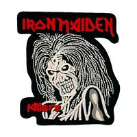 Iron Maiden Killers Patch — Iron On Badge Embroidered Motif — Skull Metal Music