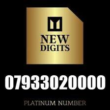 VIP RARE GOLD PREMIUM UK BUSINESS MOBILE PHONE NUMBER SIM CARD 0000