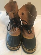 Sorel Caribou Buff Mens Size 7 Boots Winter Shoes Cold Weather
