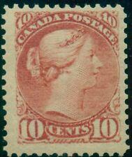 CANADA #45 10¢ brown red, og, VLH, VF Scott $625.00