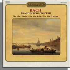Musique d'Or 13: Bach - Brandenburg Concertos Nos. 2, 5, 6 - New Classical CD!