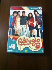 EL REFUGIO - SERIE TV - VOLUMEN 1 - 5 DVD - 15 CAPITULOS - NUEVA Y EMBALADA