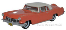 Oxford 1956 Lincoln Continental Mark II Island Coral Die-Cast Metal Car 1/87 HO