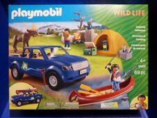 Playmobil 5669 Camping Ausflug Pick Up Kanu Elch Wild Life Exclusive Set Neu