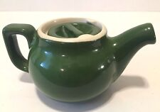 Vintage Chefsware Green Restaurant Ware Teapot-USA