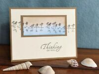 Stampin Up Thinking of You Card Sympathy Condolence Get Well Sandpipers
