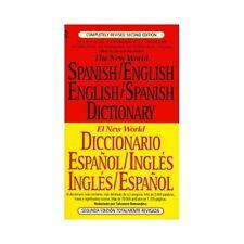 El Nuevo World Diccionario Español / Inglés Inglés/Español (1996, Paperback, Re…