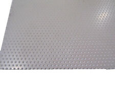 Polypropylene Perforated Sheet 18 Thick X 24 X 24 332 Dia Hole Stagger