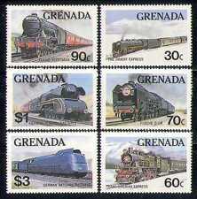 Grenada 1982 Steam Trains/Rail/Transport 6v set  n27586