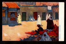 tuck a/s forrest courtyard morocco africa postcard