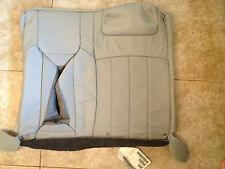 2004-06 Lincoln LS Factory Original REAR LEATHER Seat Cover (Gray Leather)