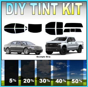DIY PreCut Window Tint Kit- Fits ANY CHEVY 2000-2021 ANY Shades ALL Windows