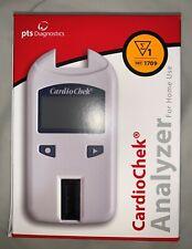 NEW PTS Diagnostics 1709 CardioChek Analyzer - Home Cholesterol Test System