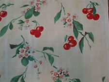 Pair of Wilendur Cherries Pillow Slips / Covers / Case