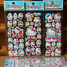 6 Hello Kitty Sticker Sheets Birthday Party Loot Favor Bag Filler