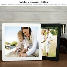 """12"""" Digital Photo frame With Remote Control MP4 Player Movies mp3 black"""