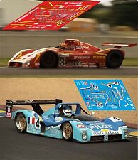 Decals Ferrari 333SP Le Mans 1997 1:32 1:43 1:24 1:18 slot calcas