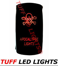 Tuff LED Lights - Two Way Red Apocalypse Rocker Switch High Quality