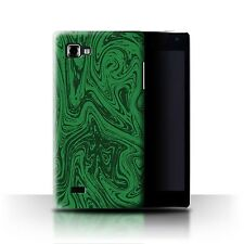 STUFF4 Back Case/Cover/Skin for LG Optimus 4X HD P880/Melted Liquid Metal Effect