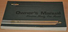BA Betriebsanleitung Harley Davidson Nineteen Ninety-One Models Owners Manual
