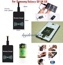 QI Wireless Charger Charging Receiver for Samsung Galaxy S3 S4 S5 HTC Nokia
