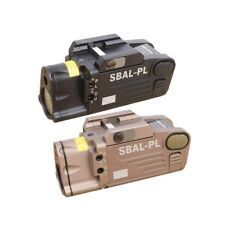 Tactical CNC Finished SBAL-PL Constant & Strobe Light With Red Laser Flashlight