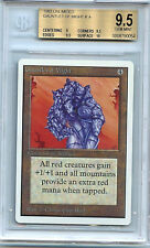 MTG Unlimited Gauntlet of Might BGS 9.5 Gem Mint card Magic the Gathering WOTC