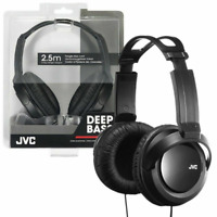 JVC HA-RX330 ON EAR HIGH QUALITY FULL SIZE DJ STEREO HEADPHONES BLACK - HARX330