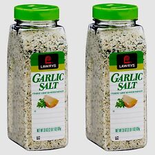 Pack of 2 Lawry's Garlic Salt 33 oz Each Fresh