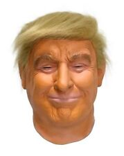 Donald Trump Mask Halloween Costume President Latex Realistic Celebrity 2018