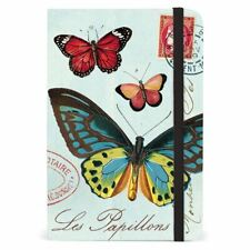 Cavallini - Small Lined Pocket Notebook 4x6in-Les Papillions/Butterflies-25 6page